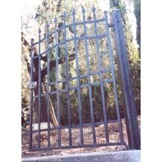 Wrought Iron Pedestrian Gate. Customize Realisations. 069 Pedestrian, Wrought Iron, Gate, Portal