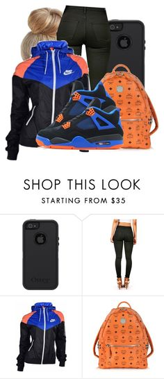 """""""."""" by honey-cocaine1972 ❤ liked on Polyvore featuring OtterBox, NIKE, MCM and Retrò"""