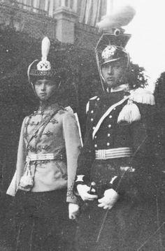 Grand Duchess Olga Nikolaevna Romanova and Grand Duchess Tatiana Nikolaevna…