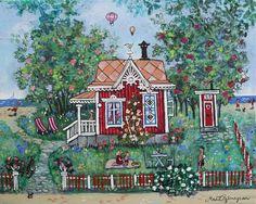 Summerhouse by Marit Björnegran