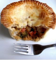 Vegetable Curry Pot Pie