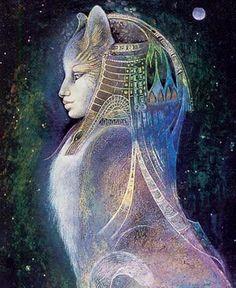 Dizia a lenda que a Deusa Leoa Sekmet, após ter dizimado parte da humanidade, fora apaziguada e se transformara numa gata mansa.
