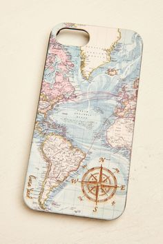 Vintage Map Wood iPhone 6/6s Case - Earthbound Trading Company
