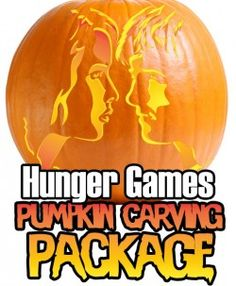 Hunger Games Pumpkin Stencil Carving Package