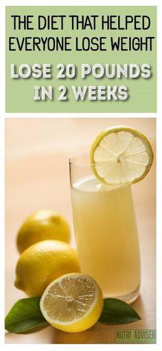 lemon cleanse diet weight loss