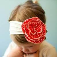 Handmade Baby Toddler Girl Soft Headband