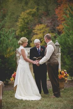 Another beautiful fall wedding at www.facebook.com/cabincreekantiques.  Photo from Jacob and Amanda collection by Megan Travis Photography