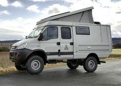 Iveco Daily Camper, Iveco Daily 4x4, Toyota Camper, Suv Trucks, Truck Camper, Camper Trailers, Camper Van, Iveco 4x4, Defender Camper