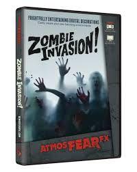 Atmosfear FX Zombie Invasion DVD