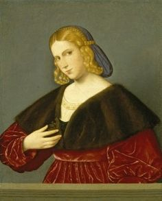 Vincenzo Catena Portrait of a Woman, c. 1520 Oil on canvas, 55 x 44.5 cm (21 2/3 x 17 1/2 in.) El Paso Museum of Art, Samuel H. Kress Collection