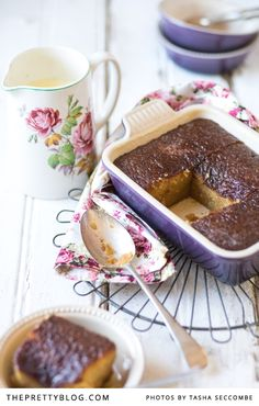 Two of the Best Malva Puddings: One each from Helmien Myburgh and Maggie Pepler.