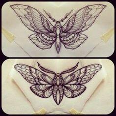 moth tattoo drawings