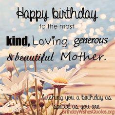 Best Happy Birthday Mom Wishes for Mom