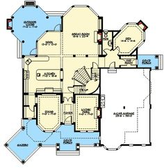 Victorian Influences with Other Versions - 23356JD | 2nd Floor Master Suite, Butler Walk-in Pantry, CAD Available, Corner Lot, Den-Office-Library-Study, Luxury, MBR Sitting Area, Media-Game-Home Theater, PDF, Photo Gallery, Premium Collection, Victorian | Architectural Designs
