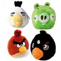 Angry Birds Mini Talking Plush Toy