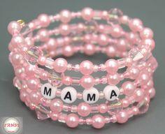 MaiTräume Armband MAMA Nr. 6 von TANBI-mommies auf DaWanda.com