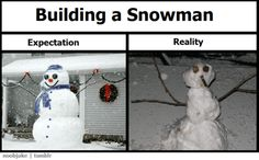 """Especially with our good ole Georgia """"snow"""" Funny Picture Quotes, Cute Quotes, Funny Pictures, Funny Quotes, Christmas Yard, Christmas Time Is Here, Laugh Till You Cry, Build A Snowman, Hoe"""