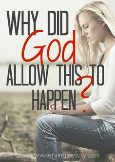 We may not have all the answers about why God allows things to happen, but there are some things we DO know about His plan and His character. Here are some things to cling to when you're asking WHY?