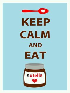 Eat nutella ♥♡