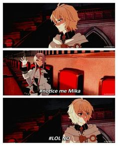 Seraph of the End haha funny