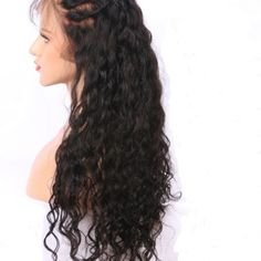 Best Weave Hair offers 360 Pre plucked Lace Frontal Wig made with Virgin Human Hair that is easy to wear. Curly Full Lace Wig, 360 Lace Wig, Lace Wigs, Best Weave Hair, Weave Hair Color, Short Weave Hairstyles, Wig Hairstyles, Straight Hairstyles, Hair Extensions Canada