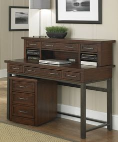Love This Cabin Creek Executive Desk Set On Zulily Zulilyfinds Office With