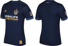 Camisas do LA Galaxy 2017 Adidas MLS