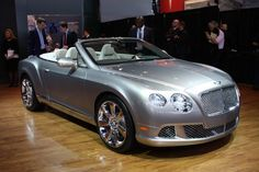 2013 Bentley Continental GTC   *This vehicle screams Sophistication and Class.