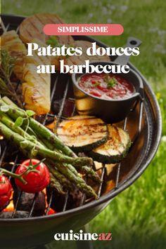 Les patates douces peuvent se cuire au barbecue. Suivez notre recette ! #recette#cuisine#patatedouce#barbecue #bbq Barbecue, C'est Bon, Ethnic Recipes, Food, Special Recipes, Sweet Potato, Barrel Smoker, Essen, Bbq