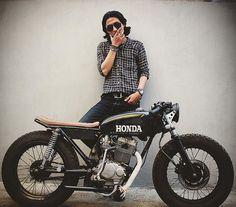 #Honda #gl #CafeRacer #bratstyle