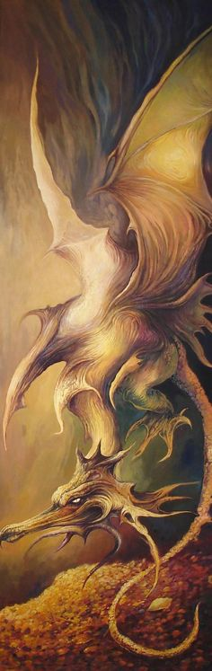 """♥ """"Dragon Smaug"""" de Masiani"""
