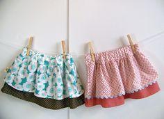 Ruffle Skirt Sewing Pattern Sizes 06m 612m 1218m 23t by OwlyBaby, $6.50