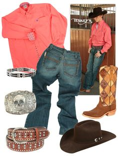 New Cinch Items Paired with Rios Boots and Greeley Hat.