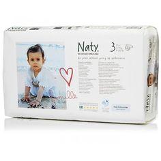Couches écologiques Naty pack économique taille 3 (paquet de 52)