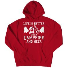 Funny Camping Hoodie