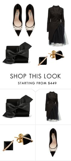 """Untitled #1366"" by marta-moreno-1 ❤ liked on Polyvore featuring Victoria Beckham, Lattori, Madyha Farooqui and Miu Miu"