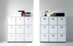 Toolbox, con maniglie numerate in alluminio per non dimenticare mai dove abbiamo stivato libri, documenti o oggetti. / Toolbox, with aluminium numbered handles, to never forget where you have put your book or your document Door Design, House Design, Drawer Unit, Man Room, Embedded Image Permalink, Home Collections, Tool Box, Locker Storage, Drawers