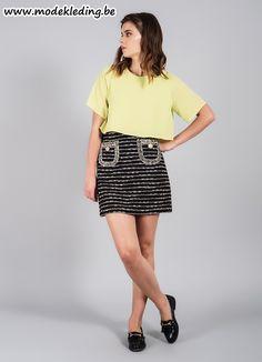 http://www.modekleding.be/D-London-skirt-DA-16-321-Shinnead-Skirts-Black/gold