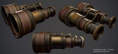 Vintage pair of binoculars by Nosslak on deviantART