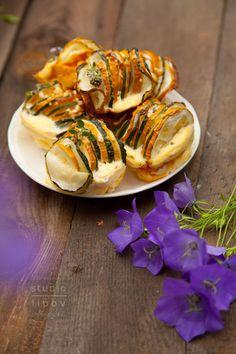 Błyskawiczne wytrawne babeczki z cukinii. - Lawendowy Dom Shrimp, Grilling, Paleo, Gluten Free, Meals, Vegetables, Cooking, Recipes, Dom