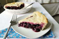 Stonewall Kitchen Blueberry Pie - the only recipe you'll ever need
