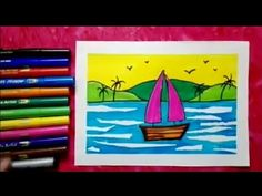 Welcome to my channel🌻🌻🌻 My channel is mainly for kids.here they learn how to draw , they also learn about colours. Easy Art For Kids, Easy Drawings For Kids, Drawing For Kids, Crafts For Kids, Oil Pastel Drawings, Art Drawings, Learning Colors, Kids Learning, Cartoon Cow