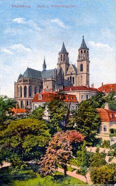 magdeburg domdplatz ostseite   Der Magdeburger Dom