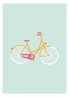 desenho de bike