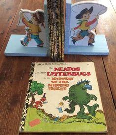Golden Press 43 Years Old THE NEATOS & THE LITTERBUGS A Little Golden Book #458