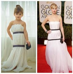 Who Wore It Better? 4-Year-Old Recreates Famous Gowns Out of Paper