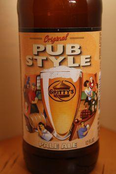 Gritty's - Pub Style Pale Ale    Ok - average