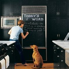 Go Ahead & Introduce Yourself To The Chalkboards That Will Soon Be Decorating Your House.