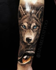 Wolf Sleeve, Wolf Tattoo Sleeve, Leg Tattoo Men, Forearm Tattoos, Sleeve Tattoos, Wolf Tattoos Men, Arm Tattoos For Guys, Cool Tattoos, Tatoos