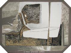 UNDETERMINED by Maia Stefana Oprea mixed media on hardboard, 39.5 x 29.5 cm, 2012 www.maiaoprea.ro/en